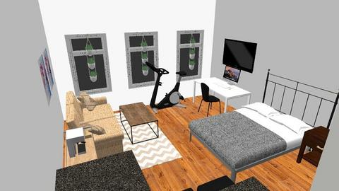 Apt 2B - Bedroom  - by michaelago