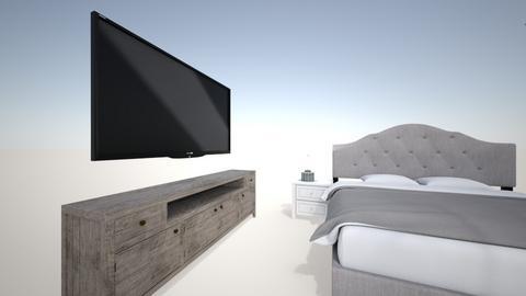 modern room - Modern - Bedroom  - by footlong123
