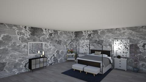 1st design - Bedroom - by avaflutie