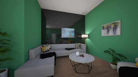 my house - Living room  - by Meghan White