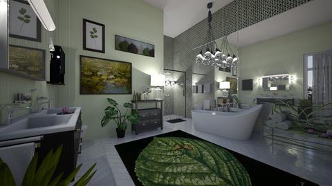 lily - Bathroom  - by hillygabe