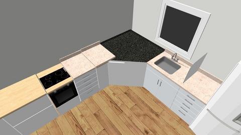 Living room - Retro - Kitchen  - by BoazHarrosh