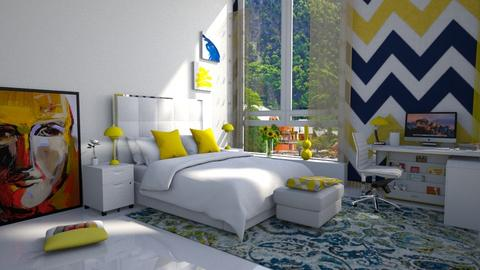 Y Sunny - Bedroom  - by Christina8898