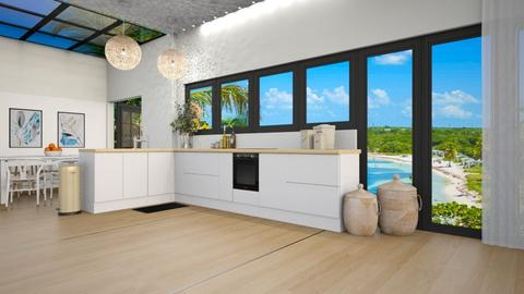 Ocean View Kitchen   CR - Kitchen  - by weinsteinfam