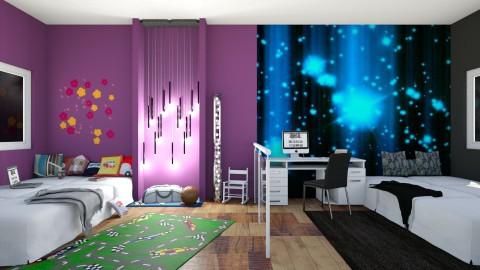 Brothers room - by Uroosa Bint E Haroon