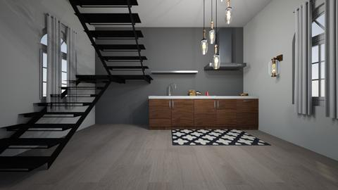 New York Penthouse  - Kitchen  - by RGOSCH8