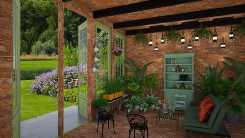 Matilda's indoor plant room - by Matilda de Dappere