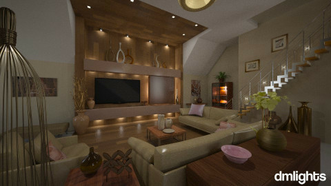 Pecan parfait - Classic - Living room  - by Lackew