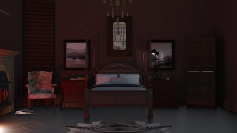 Drear Sir - Bedroom  - by RaeCam