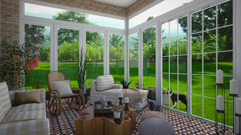 Sunroom check - Eclectic - by martinabb
