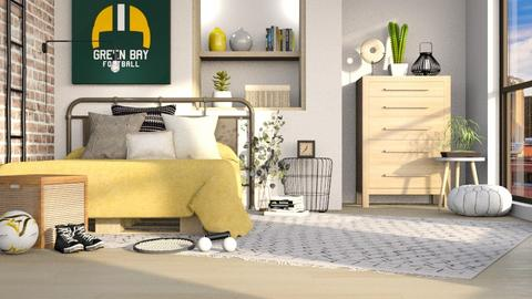 Sports Fan - Bedroom  - by LB1981