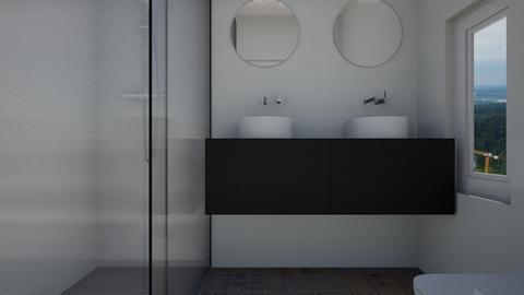Cologno M bagno 1 - Bathroom - by natanibelung
