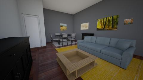 lounge - Living room - by Keiyomayo