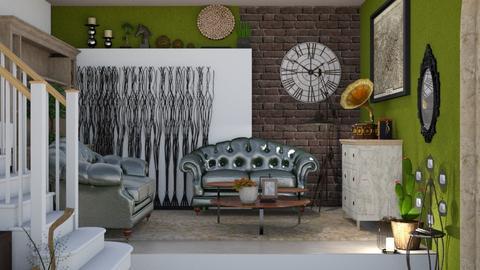 back to the - Living room  - by snjeskasmjeska