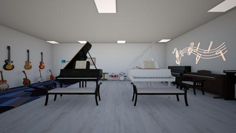 Music shop_acoustic piano - by saratevdoska