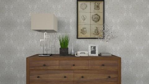 A Sleek Dresser - Classic - by Ayesha Azhar