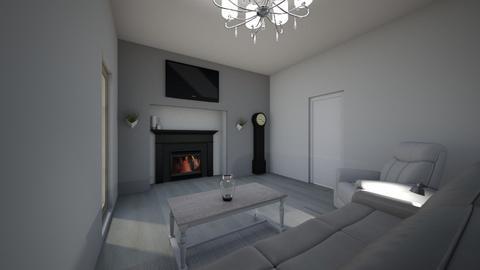 classy casual farmhouse  - Living room  - by Kimorah
