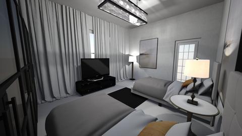 roooom - Bedroom  - by iuefoirueiori