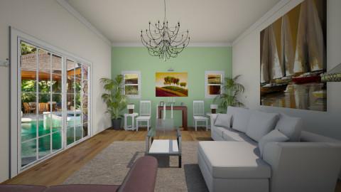 RETRO - Retro - Living room  - by Carlos Gonzalez_886