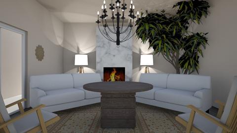 Modern lounge area - Modern - by JuZ9923