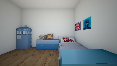 My Room - Bedroom  - by mcv123me