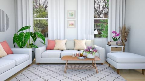 Spring Living Room - Feminine - Living room - by fatihafitra