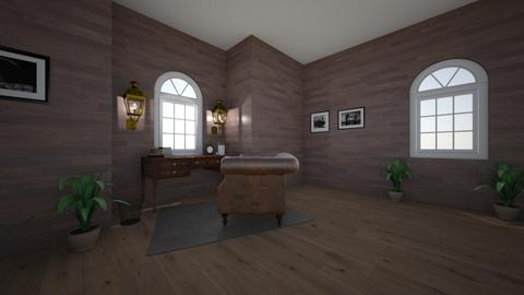 old office - Rustic - Office  - by 931CHERRY