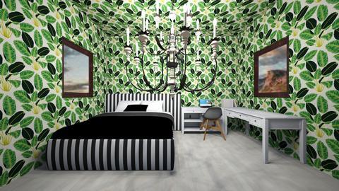 Tropical Bedroom - Bedroom  - by Unicorn43794
