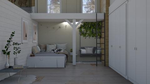 bedroom loft - by irisrmks