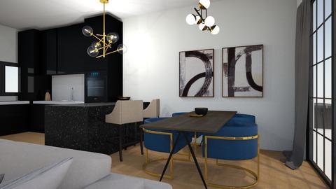Jan Naarden - Living room  - by Design by Bodine