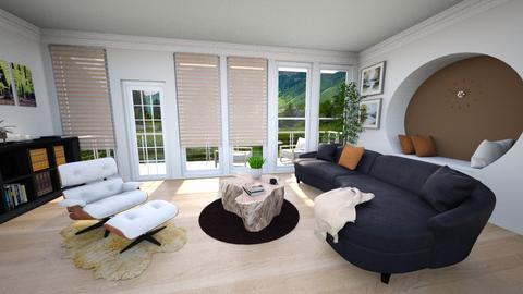 Tall Window Living Room - Living room  - by Grenadier