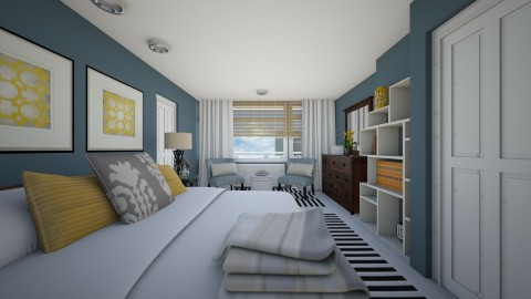 Bedroom redesign - Modern - Bedroom  - by channing4