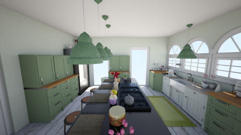 2 - Vintage - Kitchen  - by wattstricia