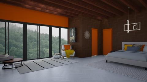 Mid Century Modern bedroo - Bedroom  - by LiveItUp