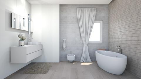 spanish bethroom - Bathroom - by nikolin_