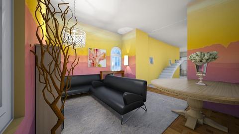 Modern Sunset Living Room - Living room  - by Snowball Styler