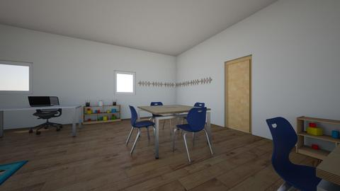 MI AULA 01 - Kids room  - by korice