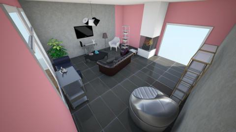 new york  - Living room - by kanka1390