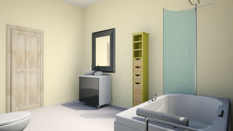 Minimal bathroom - Minimal - Bathroom  - by Euge Crespo
