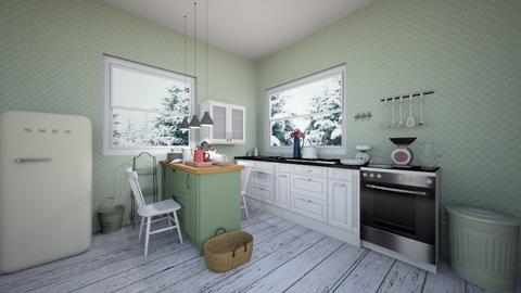 cocina - Kitchen  - by SaraRuiz