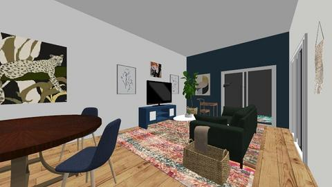 LA Townhome_Living Room - Living room  - by cmhoward