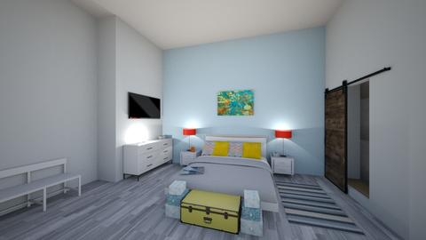 Studio Apartment Design 2 - Eclectic - Living room  - by SuitePoshDesigns