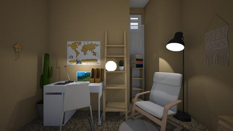 Basement bedroom v2 - Minimal - by niannnn