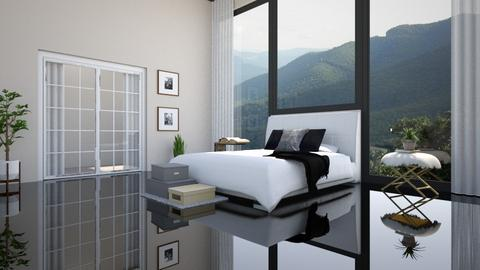 modern gloss - Modern - Bedroom  - by YourSisterTho