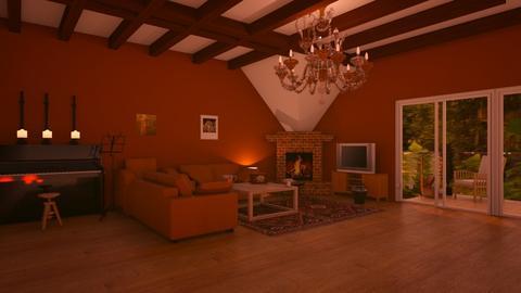 Villa Proboscis Living - Living room  - by MPIB