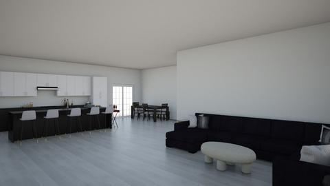 h - Modern - Living room  - by kellynazha