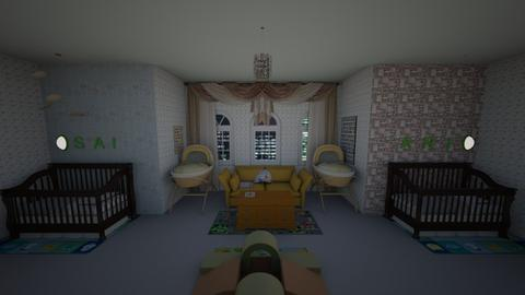 Ari Sai - Kids room  - by emivim