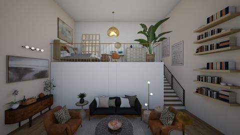 loft area - Living room  - by meredithcrummey