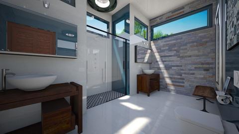 guest room bathroom 2 - Bathroom  - by Amyz625