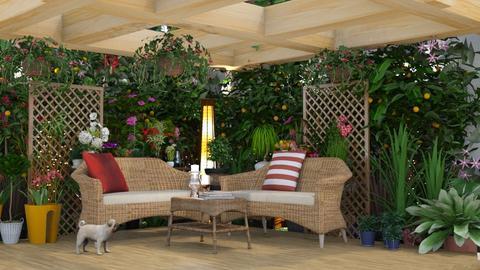 Garden Corner - Garden  - by creato